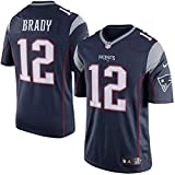 """Tom Brady New England Patriots Nike Limited Jersey """"Ships from USA"""" (Navy, Large)"""