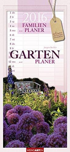 Familienplaner Garten 2016, Buch