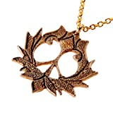 Peace Lotus Pendant Necklace