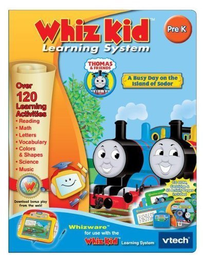 V Tech - Whiz Kid Cd - Thomas & Friends front-1063317
