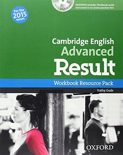 Cambridge English: Advanced Result: Workbook Resource Pack Without Key (2014-08-28) (Advanced Result Workbook compare prices)