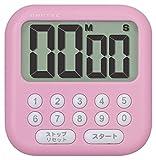DRETEC 大画面タイマー 【シャボン 10 】 ピンク T-544 PK