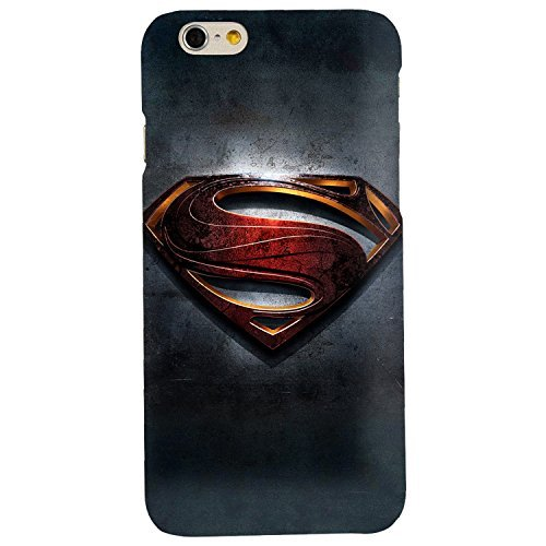 Clapcart Superman Logo Printed Mobile Back Cover for Apple iPhone 6 / iPhone 6S -Multicolor