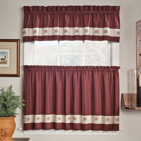Embroidered Mini Plaid Curtain, Kitchen Curtains, Plaid Curtains, Bathroom  Curtains,