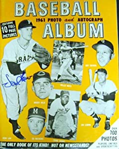 1961 Baseball Photo Book autographed by 18 including Vin Scully, Bob Murphy, Duke... by Sports Memorabilia