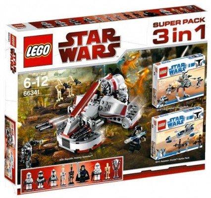 LEGO Star Wars 66341 - 3 in 1 Super Set - inkl.