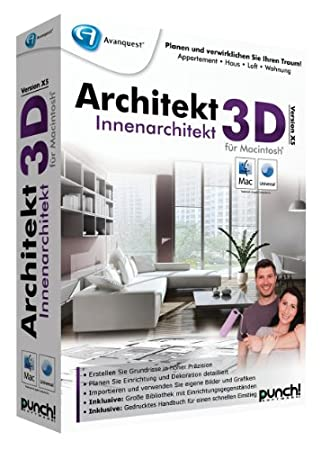 Architekt 3D X5 Innenarchitekt für Mac