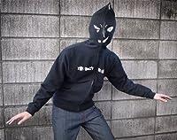 【名探偵コナン】犯人フルジップパーカー サイズ:M / BLACK