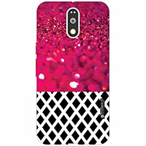 Motorola Moto G4 Plus Back Cover - Silicon Pink Designer Cases
