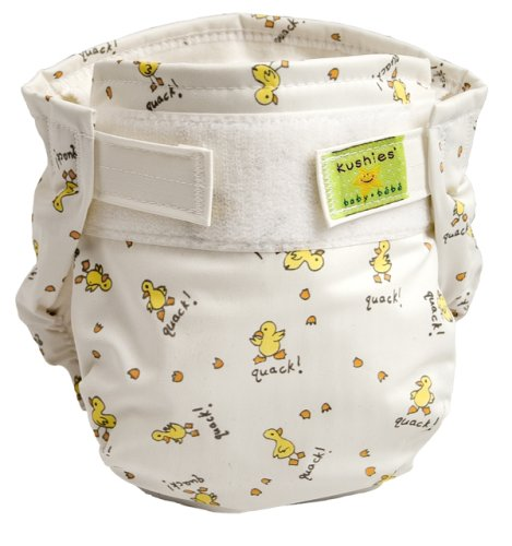 Kushies Reusable Single Ultra Diaper for Infants