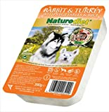 Naturediet Rabbit and Turkey 390 g (Pack of 18)