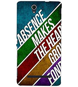 SONY XPERIA C3 TEXT Back Cover by PRINTSWAG