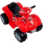 Rockin' Rollers? Rally Racer Battery Powered 4x4 ATV ? Red