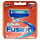 Gillette Fusion Men's Razor Blades - 8 Blades