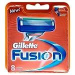 Gillette Fusion Men's Razor Blades -...
