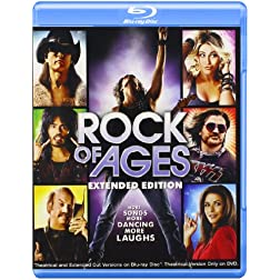 Rock of Ages: Theatrical & Extended Cut [Blu-ray]