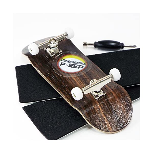 P-Rep 32mm SPACED Complete Wooden Fingerboard Kit w CNC