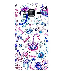 Evaluze graffiti color Printed Back Cover for SAMSUNG GALAXY ON5 2015