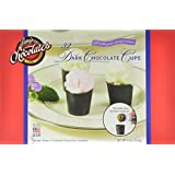Lang's Chocolates Dark Chocolate Dessert Cups Certified Kosher-Dairy, 32-Count Package