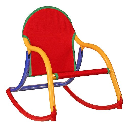 Hoohobbers Rocking Chair, Primary Canvas