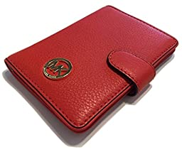 Michael Kors Fulton Passport Case Holder (Mandarin Orange)