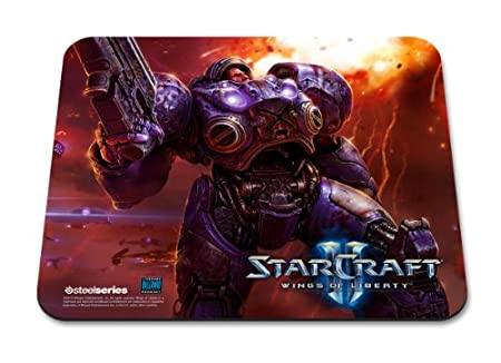 SteelSeries Gaming Surface Mousepad: StarCraft II Wings Of Liberty -Tychus Findlay Edition (PC/Mac) [Edizione: Regno Unito]