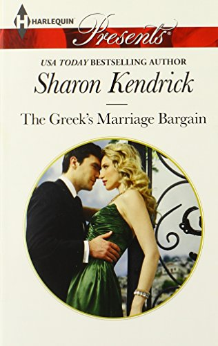 Image of The Greek's Marriage Bargain (Harlequin Presents)