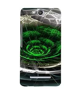PrintVisa Colorful Modern Art Design 3D Hard Polycarbonate Designer Back Case Cover for MicromaxBoltQ338