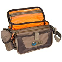 Wild River by CLC WN3505 Tackle Tek Mission Lighted Convertible Tackle Bag, Small, (Trays Not Included)
