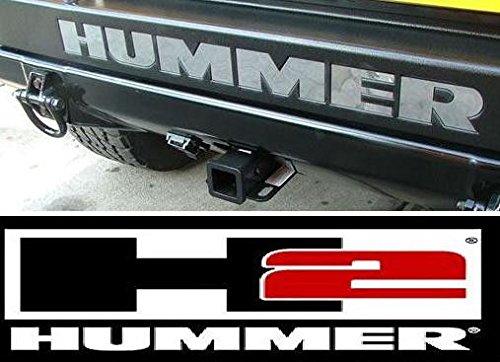 hummer-h2-rear-bumper-chrome-letters-insert