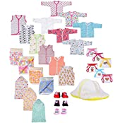 Firststep New Born Baby Gift Set Combo Pack Of 7 Items Which Are Most Usable In Daily Life For Your Little One's...
