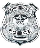 Loftus Special Police Badge Costume, Silver