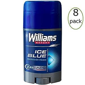 Amazon.com: Williams Ice Blue Deodorant Stick 75ml Pack of