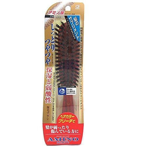 池本 アミノダメージケア豚毛ブラシ