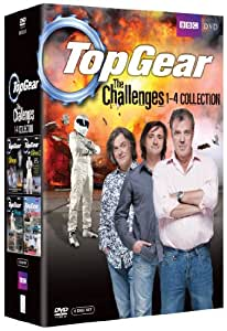 top gear the challenges 1 4 collection import anglais dvd. Black Bedroom Furniture Sets. Home Design Ideas