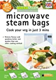 Quickasteam microwave cooking bags standard size 35 pack