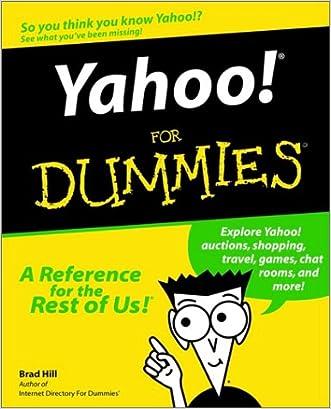Yahoo!For DummiesÂ