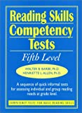 img - for Reading Skills Competency Tests: Fifth Level (J-B Ed: Ready-to-Use Activities) book / textbook / text book