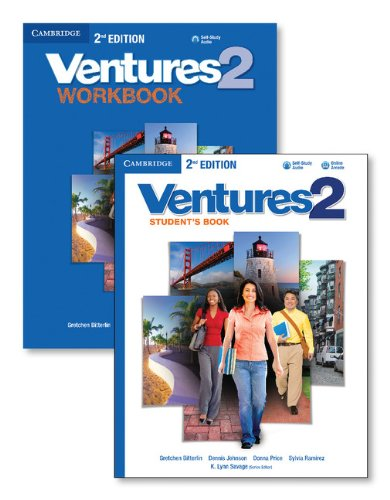 Ventures Level 2 Value Pack (Students Book with Audio CD and Workbook with Audio CD)
