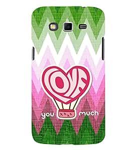 EPICCASE xoxo Mobile Back Case Cover For Samsung Galaxy Grand Neo (Designer Case)