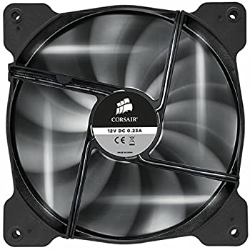 Corsair Corsair Air Series AF140 LED Quiet Edition High Airflow Fan - White (CO-9050017-WLED) [並行輸入品]