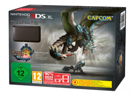 gadget geek - console nintendo 3ds noire monster hunter ultimate edition limitee