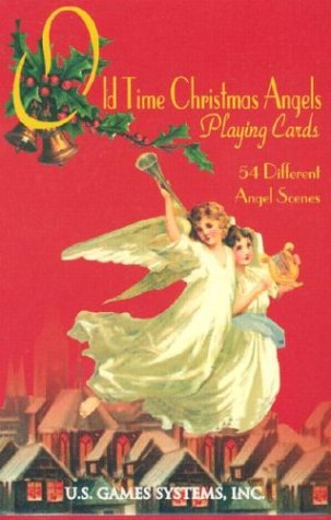 Old Time Christmas Angels Card Game