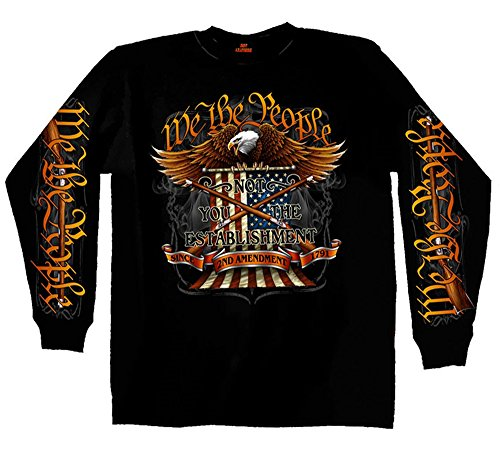 Hot Leathers Long Sleeve We The People T-Shirt (XL)