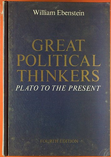 Image for Great political thinkers: Plato to the present