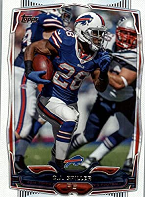 C.J. Spiller - Buffalo Bills - 2014 Topps Football Card #85