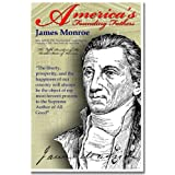 James Monroe, Founding Fathers, Poster