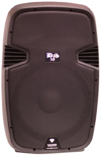 Ds18 Ds-Pa15Eqbt 15-Inch 2,000 Watts 2-Way Powered/Active Speaker Box With Bt/Fm/Usb/Sd/Eq And Guitar Inputs