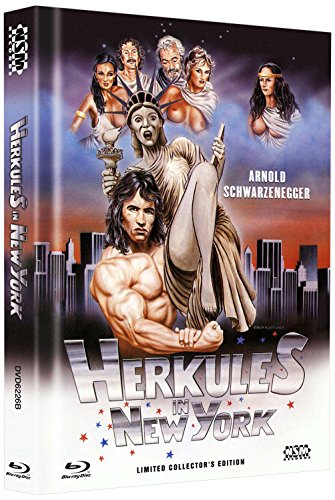 Herkules in New York [Blu-ray + DVD] limitiertes Mediabook Cover B [Limited Collector's Edition]
