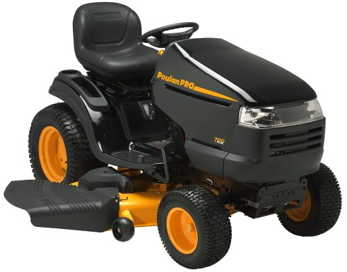 Buy Poulan Pro 54-Inch 26 HP Garden Tractor with Briggs & Stratton Engine #PBGT26H54